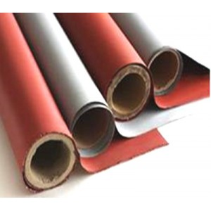 Si Coated Fiberglass Fabric