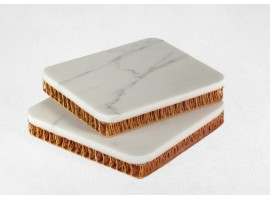 Sandwich panel for stone
